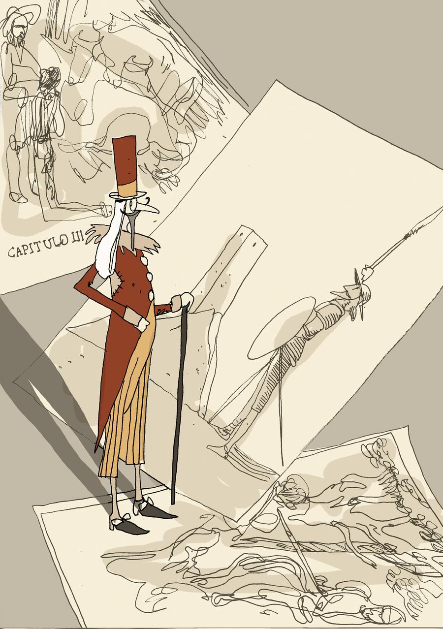 Ilustrações do brasileiro Guazelli para 'Dom Quixote das crianças'