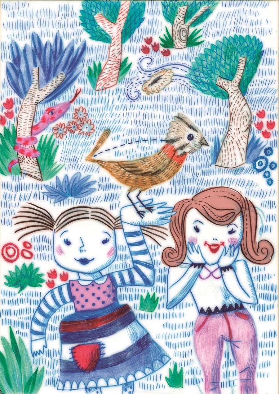 Ilustração do português José Saraiva para 'A reforma da natureza'