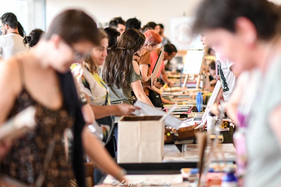 Edição passada da feira e-cêntrica | © Layza Vasconcelos / Divulgação