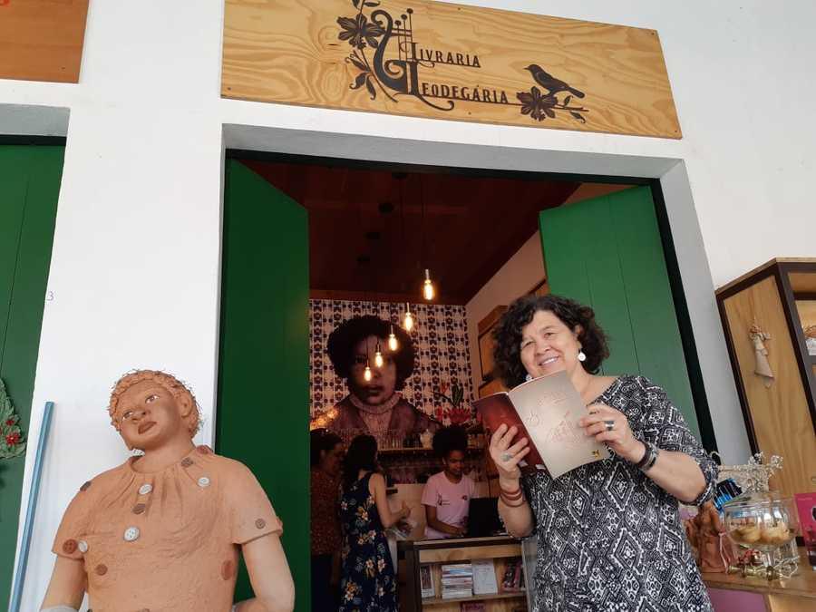 Professora Goiandira Ortiz é uma das sócias da Leodegária | © Leonardo Neto