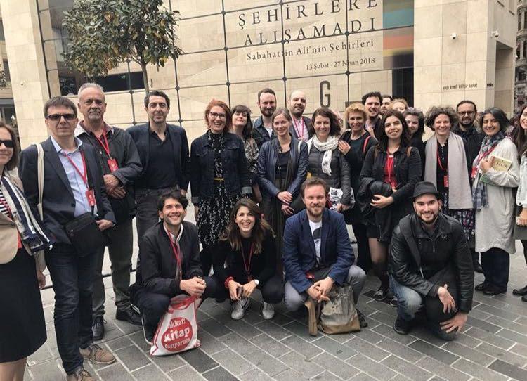 Participantes da última edição do 'Fellowship' do Festival Internacional de Literatura de Istambul | © Divulgação