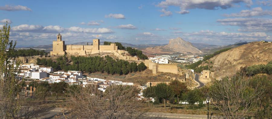 O castelo de Antequera | By Ingo Mehling, CC BY-SA 4.0