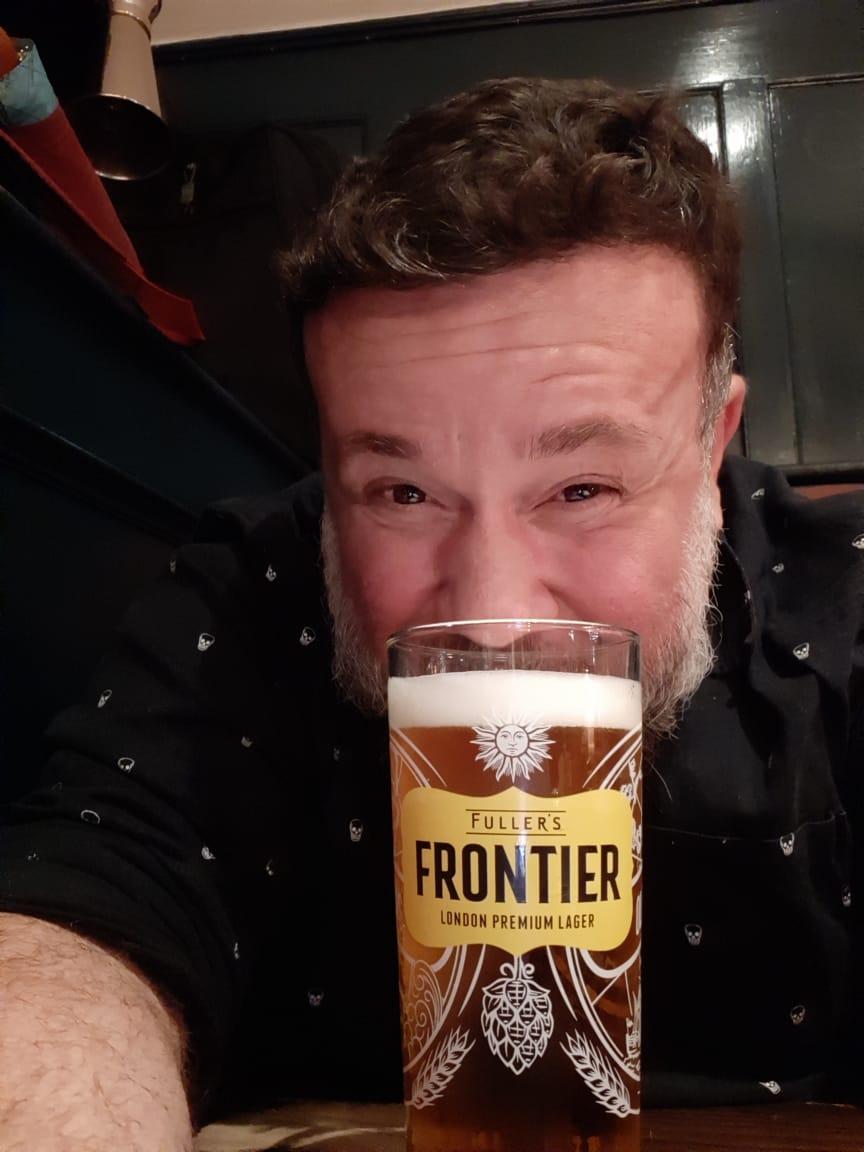 Finalmente, me encontrei com um pub! Ufa...