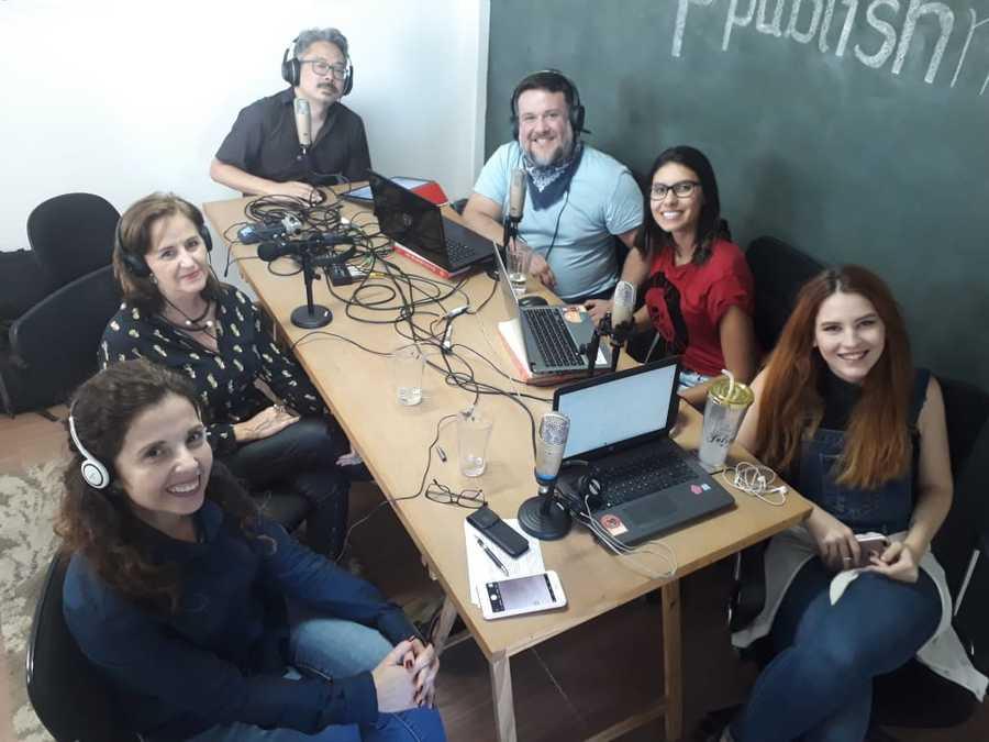 Zoara Failla participa com nossa equipe do Podcast do PublishNews dessa semana