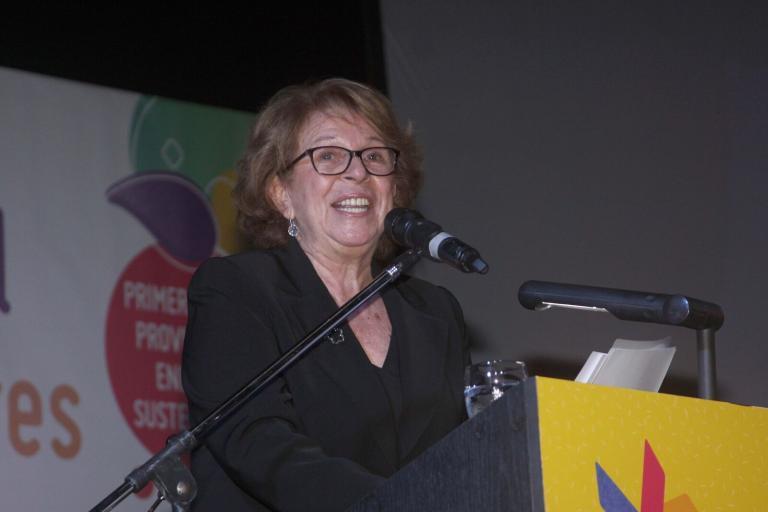 María Teresa Carbano, presidente da Fundação El Libro, que organiza a Feira do Livro de Buenos Aires | © Divulgação