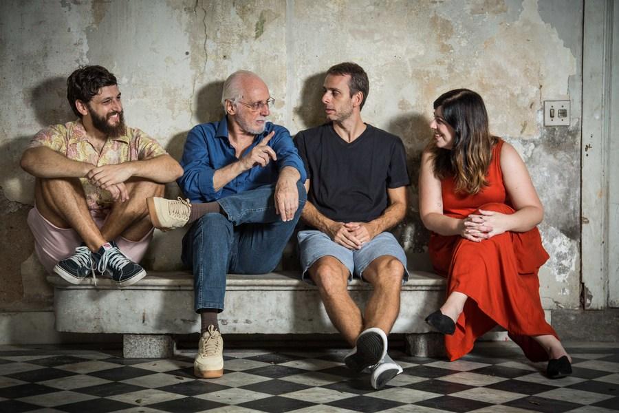 Daniel Lameira, Sergio Drummond, Rafael Drummond e Luciana Frachetta | © Divulgação / Peter Wrede