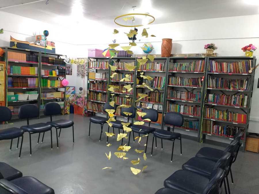 Biblioteca da Escola Municipal de Ensino Fundamental Francisco Cabrita (Rio de Janeiro - RJ)