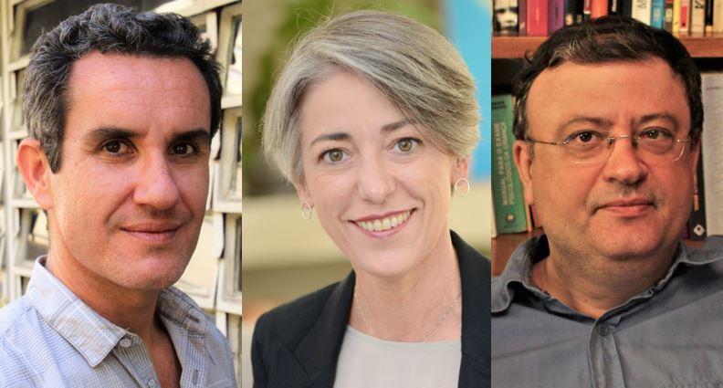 Os psicólogos Rafael Kalaf Cossi, Vera Iaconelli e Christian Dunker participarão da programação da Casa PublishNews debatendo as questões de gênero   © Divulgação