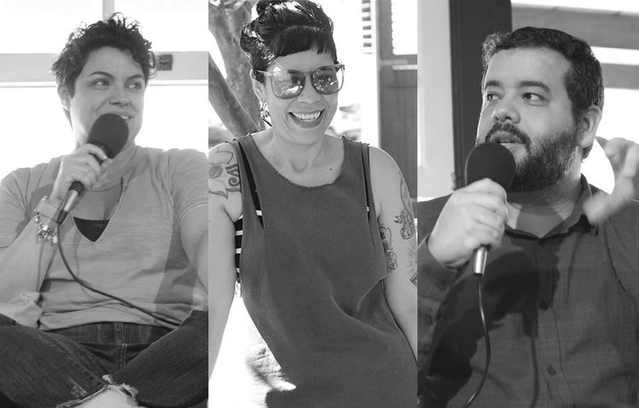 Camila Cabete, Mariana Rolier e Bruno Mendes