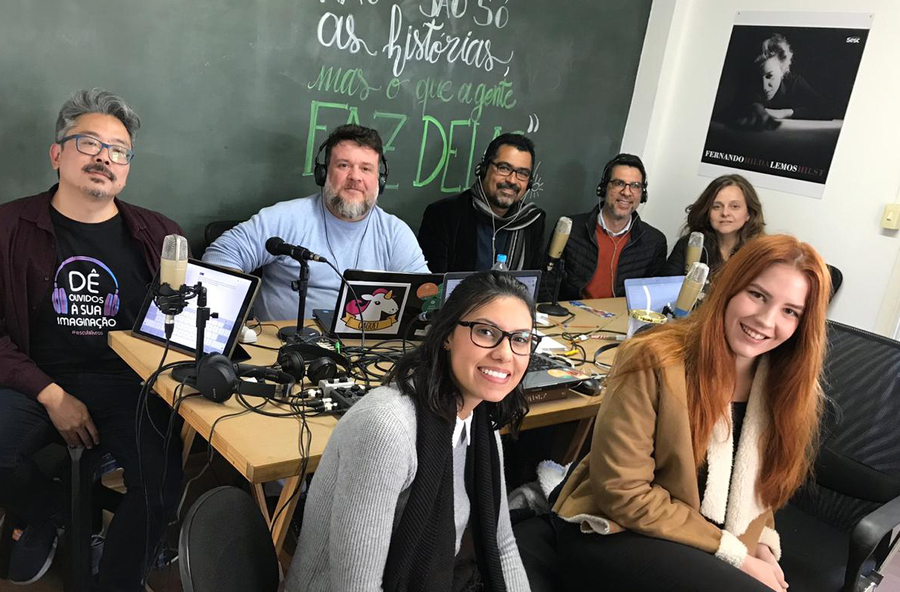 Mansur Bassit e Robson Lima participaram do Podcast do PublishNews dessa semana