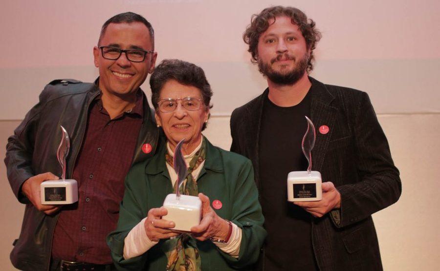 Franklin Carvalho, Maria Valéria Rezende e Maurício de Almeida foram os vencedores da última edição do Prêmio SP de Literatura | Divulgação