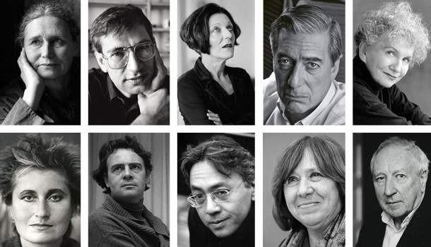 Alguns dos ganhadores do Nobel de Literatura nos últimos anos