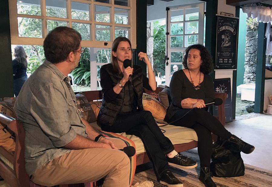 André Argolo, Susana Cerveira e Juliana Santos | © Talita Facchini
