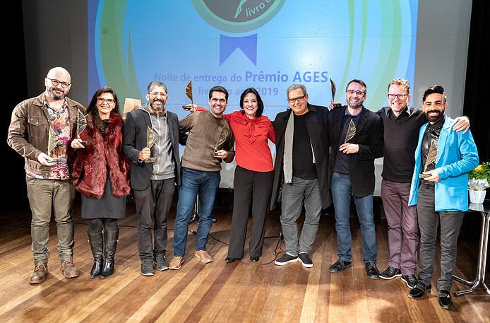 Vencedores do Prêmio Ages 2019   © Luís Ventura