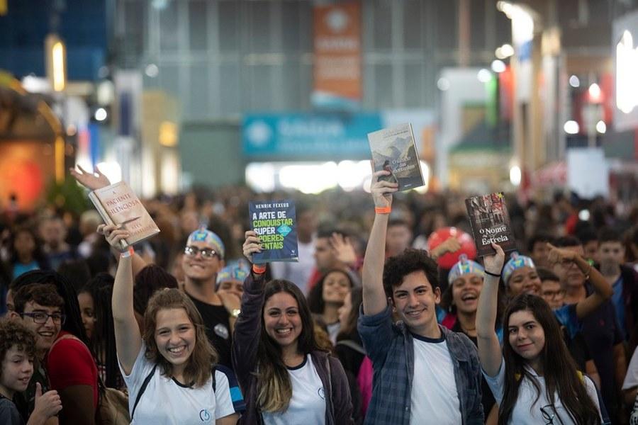 600 mil pessoas passaram pelo Riocentro nos dias da Bienal, segundo balanço da organização do evento | Redes sociais da Bienal