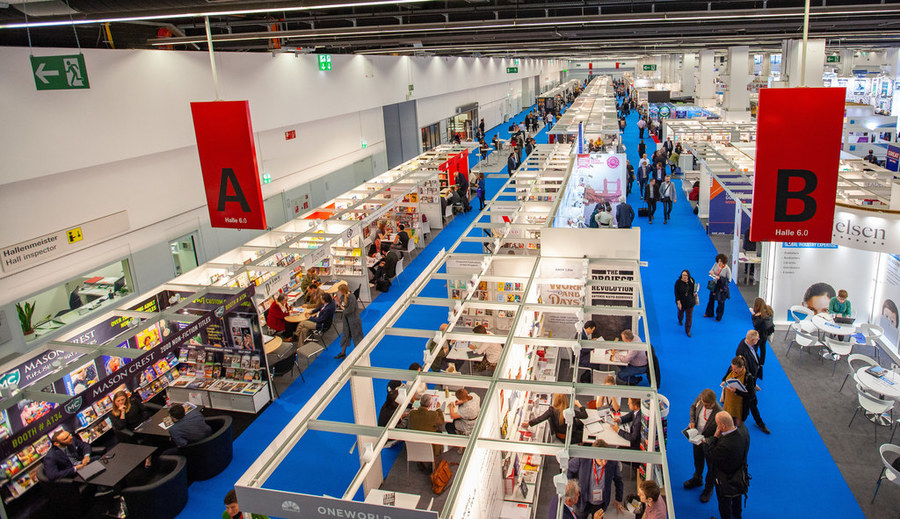 Pavilhão da Feira do Livro de Frankfurt | Frankfurter Buchmesse