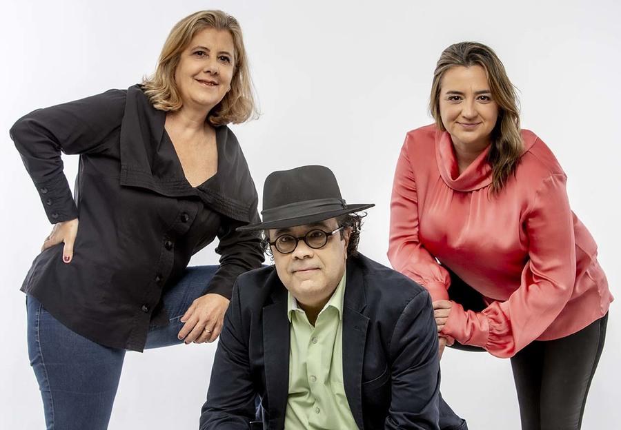 Gisela Armando, Omar Souza e Fernanda Zacharewicz | © Décio Figueiredo