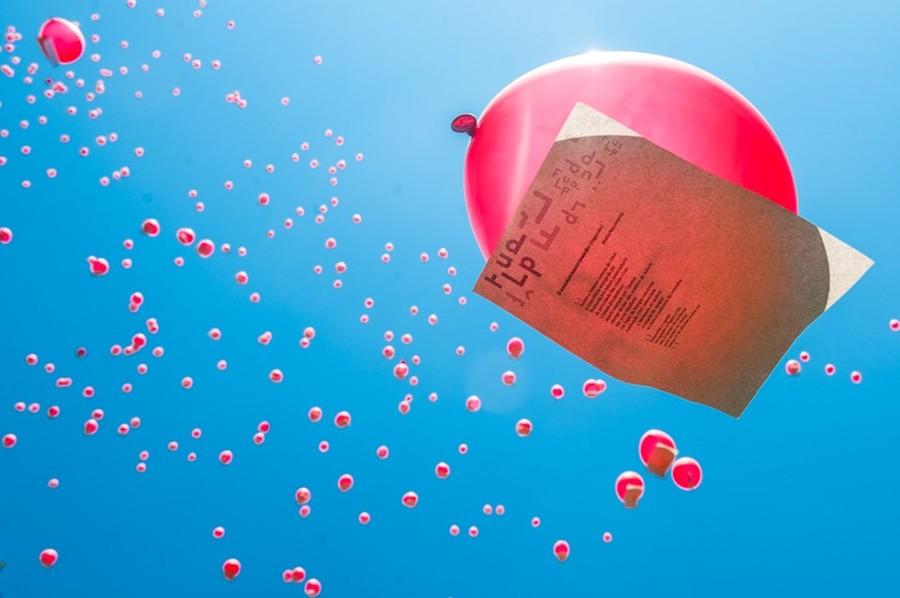 A tradicional revoada de balões, uma das marcas da Flup, será em homenagem a Ecio Salles, um dos idealizadores do evento morto em julho passado | Facebook da festa