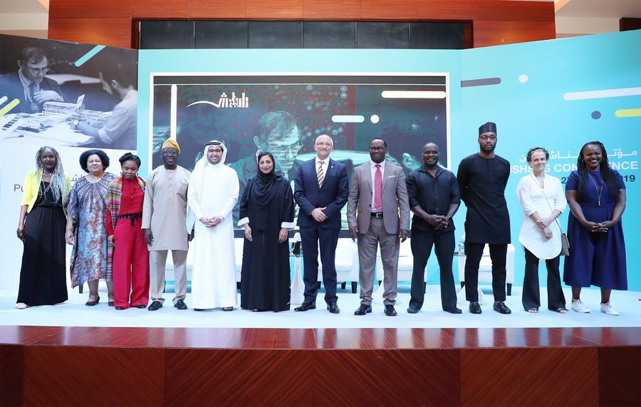 Alguns dos vencedores da bolsa da Dubai Cares se apresentaram em Sharjah | Divulgação