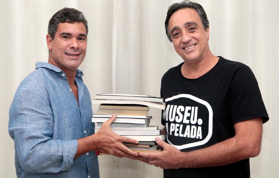 Marcos Eduardo Neves e Sergio Pugliese | © Divulgação