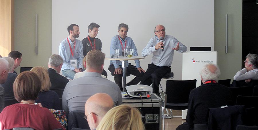Livreiros discutem os desafios do varejo de livros na EIBF Annual Conference em Frankfurt | © Divulgação