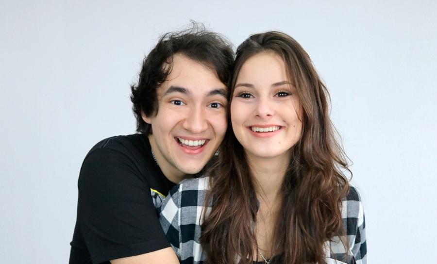 Gabriel e Manu - juntos na vida, no YouTube e na Lista Nielsen PublishNews | Divulgação