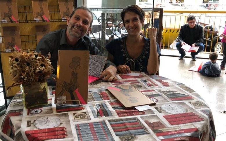 Roger Mello e Mariana Massarani têm trabalho reconhecido na China   Redes sociais do autor