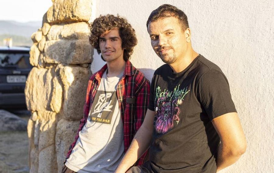 João Gabriel Paulsen (à esquerda) e Felipe Holloway   © Divulgação