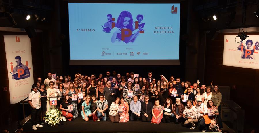 Vencedores reunidos no fim da cerimônia de entrega do Prêmio | Divulgação