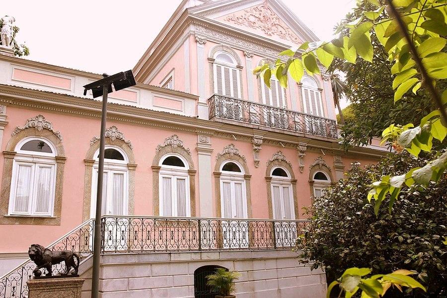 Fachada da Fundação Casa de Rui Barbosa   © Ronaldo Caldas / Ascom / MinC
