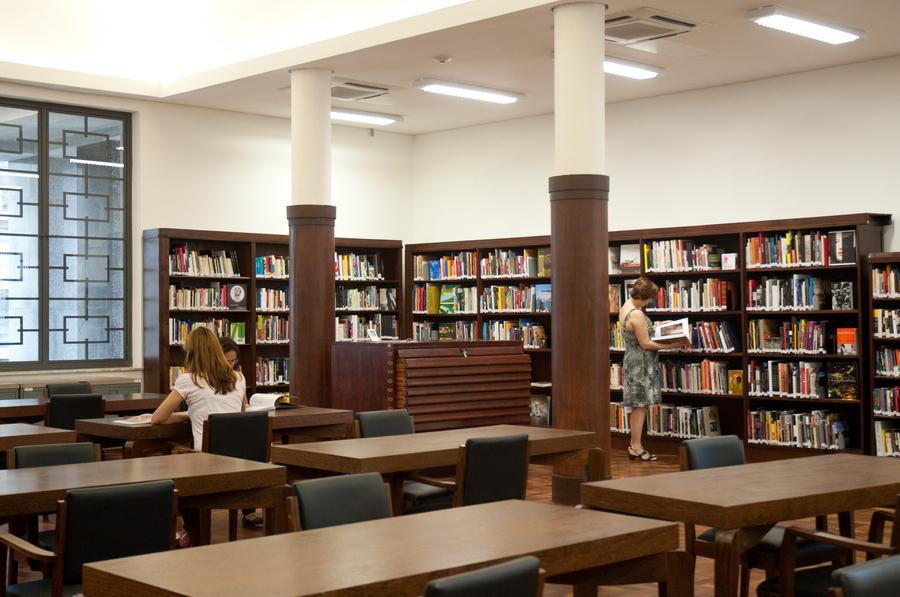 Biblioteca Mario de Andrade | © Sylvia Masini