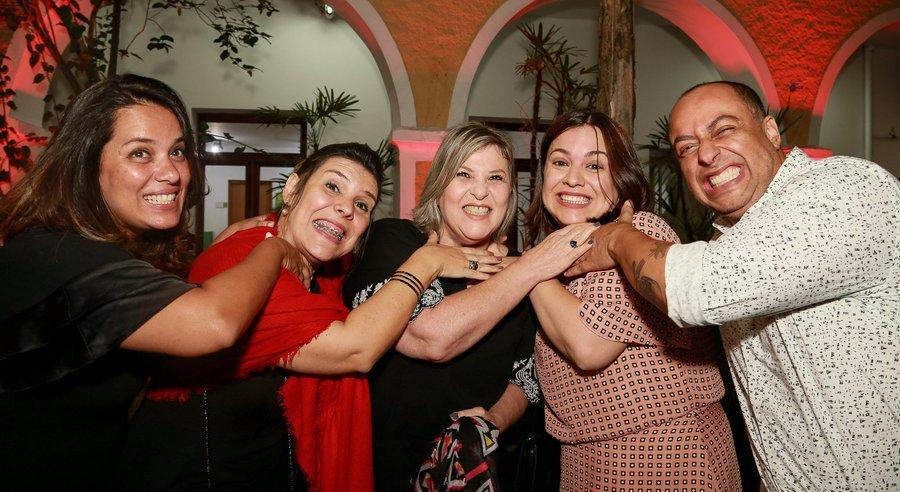 Daniela Kfuri, Luciana Borges, Beth Vilela, Rackel Accetti e Denis Barros foram os finalistas do Profissionais do Ano de 2018. Daniela levou o troféu.