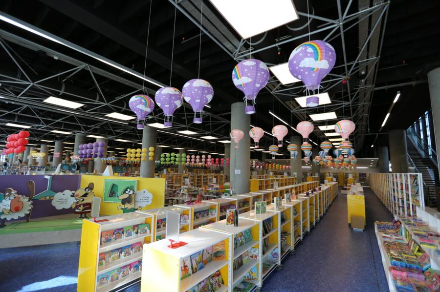 Interior da Bagh-e-Ketab, a maior livraria do mundo | © Divulgação