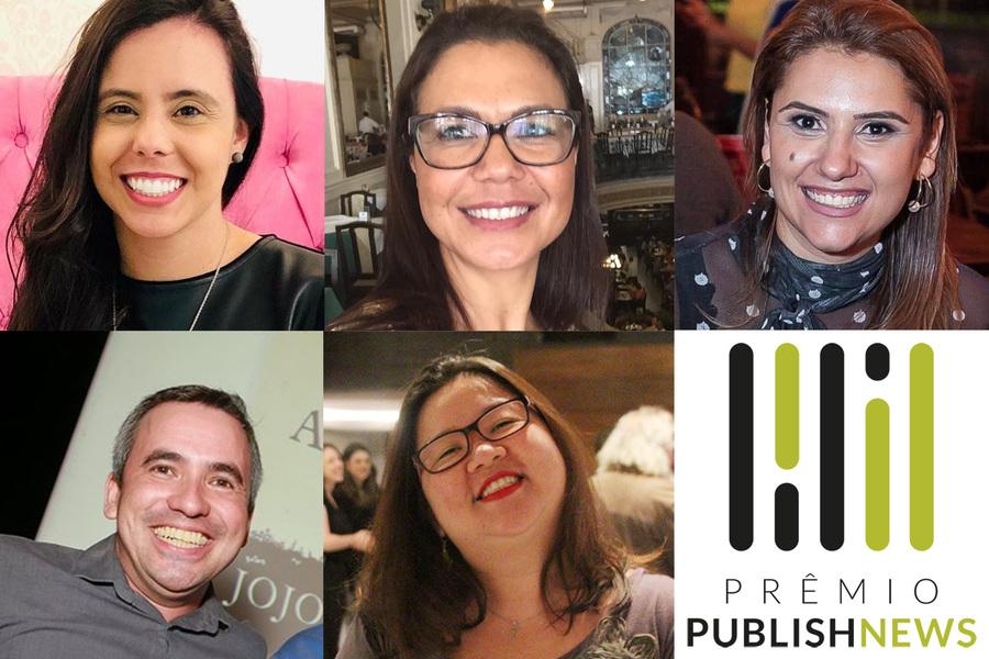 Carolina Bueno, Corina Campos, Franciele Silva, Jeferson Bignardi e Telma Kobori disputam o Prêmio de Profissional de Marketing e de Vendas do Ano de 2019