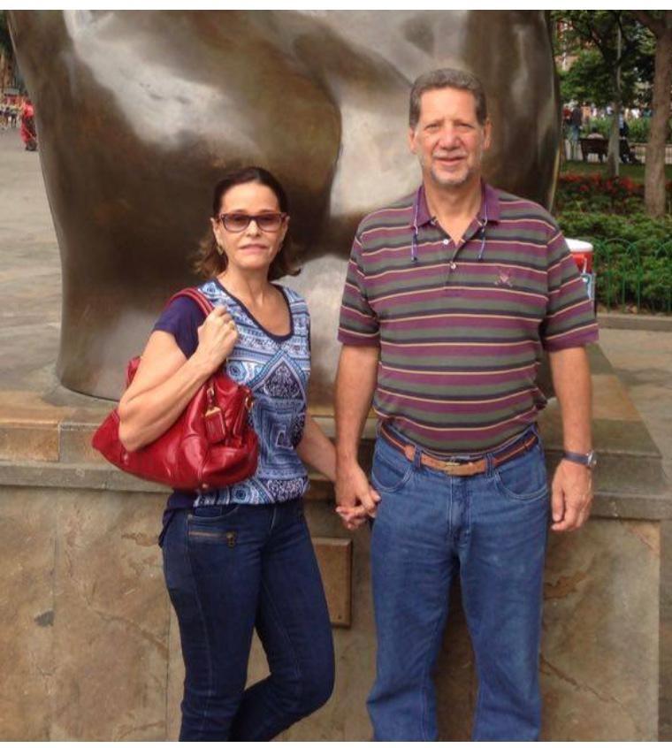 Beatriz e Ricardo Riedel já estão voltando para o Brasil | © Acervo pessoal