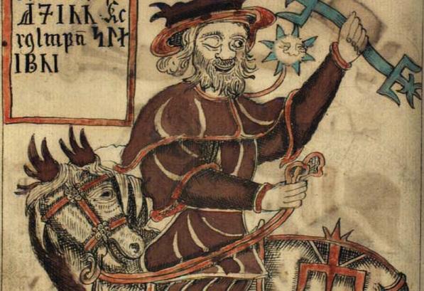 Odin, o principal deus do clã dos Æsir | Ólafur Brynjúlfsson / Domínio público