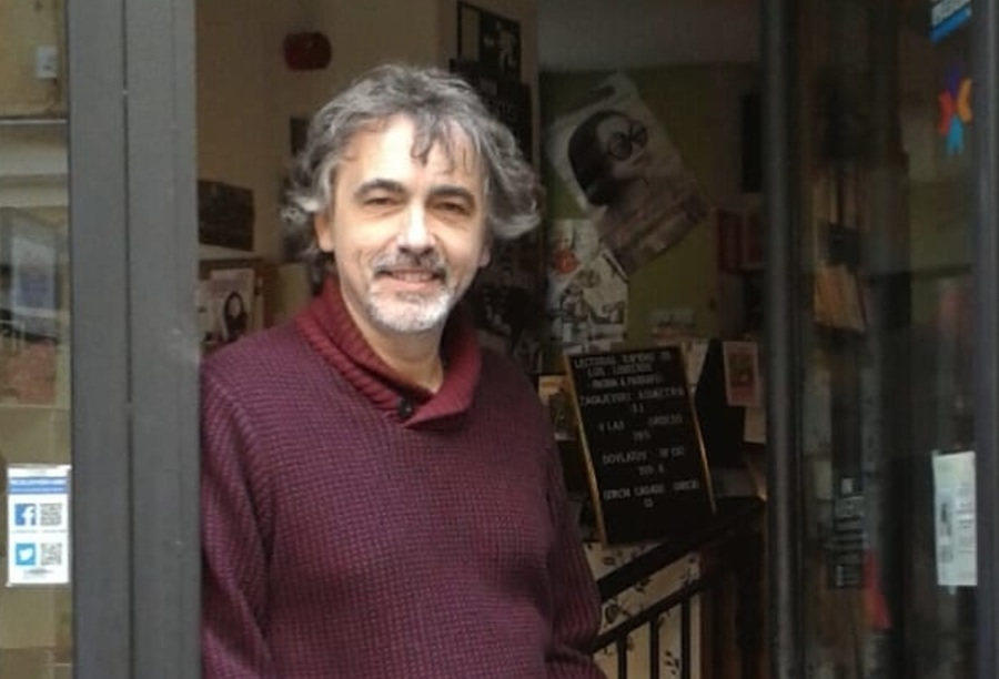 Jesús Trueba, da La Buena Vida, livraria de Madrid | © Divulgação