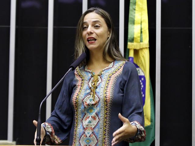 A deputada Fernanda Melchionna (Psol-RS) é a autora do PL 2604/2020 que quer facilitar o acesso de livrarias e editoras a linhas especiais de crédito durante a pandemia | Ag. Câmara