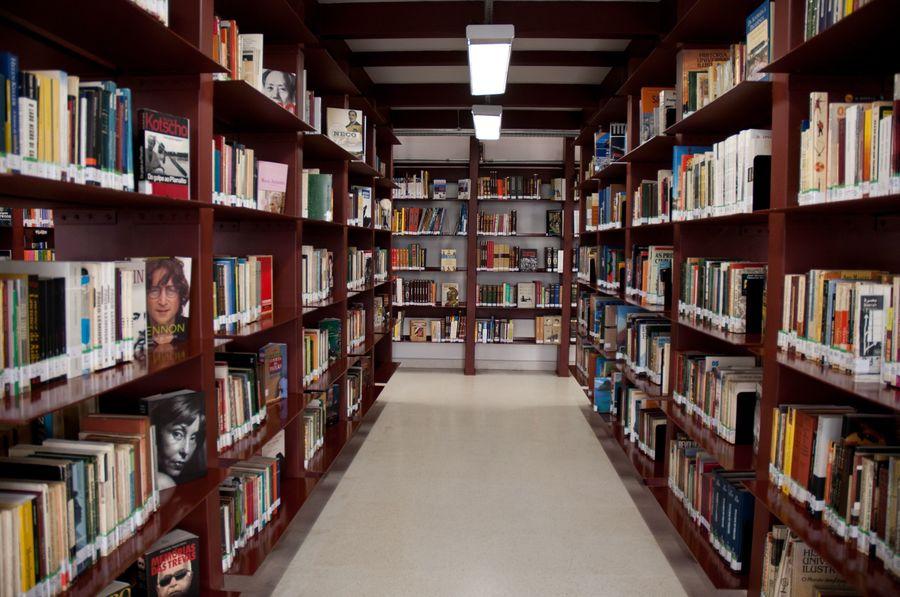 Interior da Biblioteca Mário de Andrade | © Sylvia Masini / Divulgação