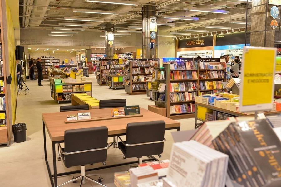 Com lojas fechadas, faturamento da Saraiva desaba   © Facebook da empresa