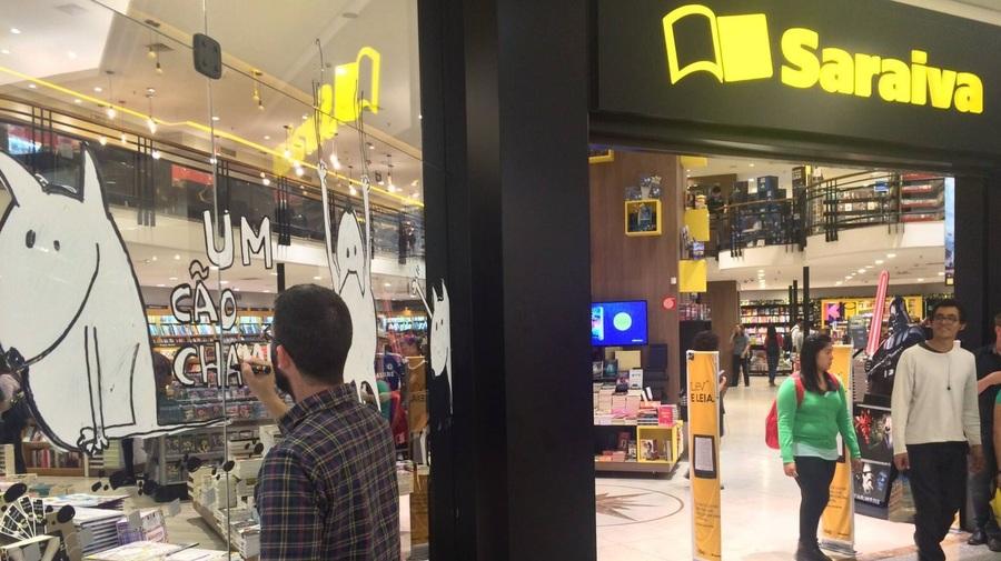 Saraiva fecha mais sete lojas. Rede agora conta com 62 lojas em 19 estados. | © Facebook da empresa