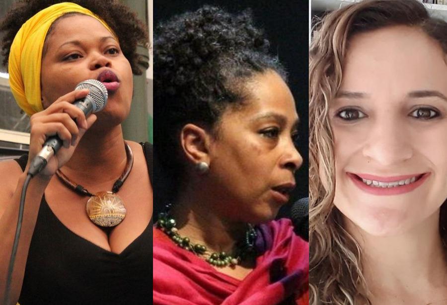 Francilene Cardoso, Neide Almeida e Charlene Lemos
