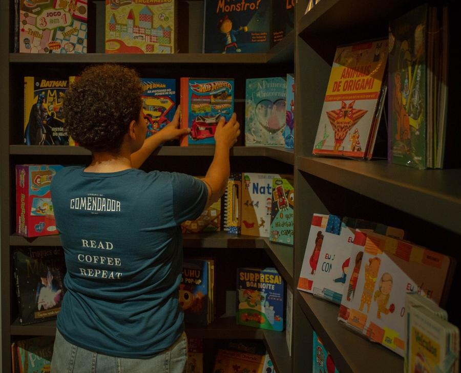 Sebrae terá novo programa de capacitação voltado para livreiros | © Cris Vieira / Divulgação - Livraria do Comendador