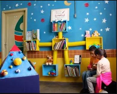 Uma das salas de leitura instalada pelo Banco de Livros do Rio Grande do Sul | © Divulgação