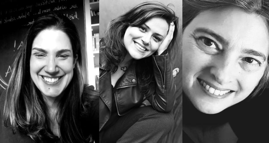 Maria Amália Camargo, Flávia Reis e Cala Caruso são algumas das autoras das primeiras obras do selo nVersinhos   © Divulgação