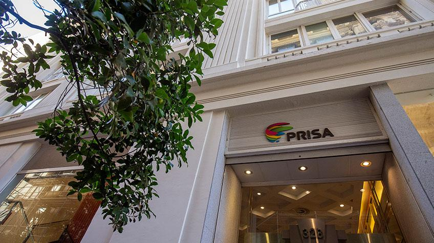 Fachada da matriz espanhola do Grupo Prisa   © Site da empresa