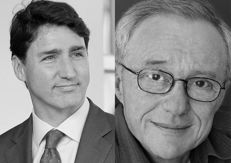 Justin Trudeau e David Grossman | © House for USMCA