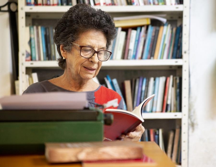 A santista Maria Valéria Rezende é a homenageada desta edição   © Adriano Franco / Divulgação