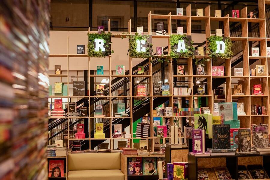 Oitava loja da Livraria Santos foi inaugurada recentemente em Canoas (RS)