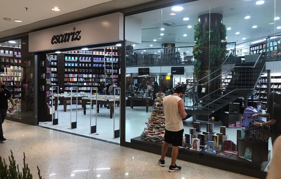 Nova unidade da Escariz no Shopping Barra de Salvador foi instalada em espaço deixado pela Saraiva | © Redes Sociais da empresa